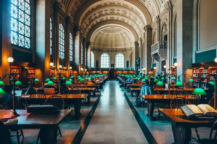 Boston Public Library, 2 Days in Boston, weekend in Boston itinerary