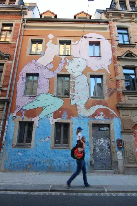 Dresden Neustadt street art, Things to Do in Dresden, Germany