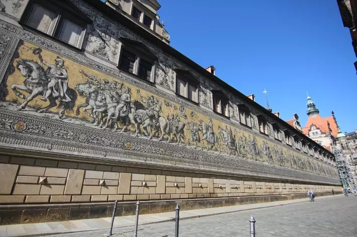 Fürstenzug, Procession of the Princes 2, Things to Do in Dresden, Germany