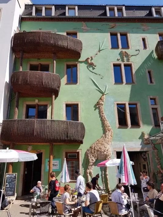 Kunshofpassage, Hof der Fabelwesen (Courtyard of Mythical Creatures), Things to Do in Dresden, Germany