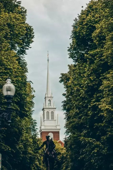 Old North Church, 2 Days in Boston, weekend in Boston itinerary