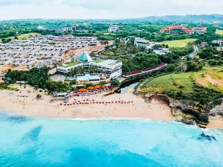 Dreamland Beach Uluwatu - mapsandmuses; Best drones for travel