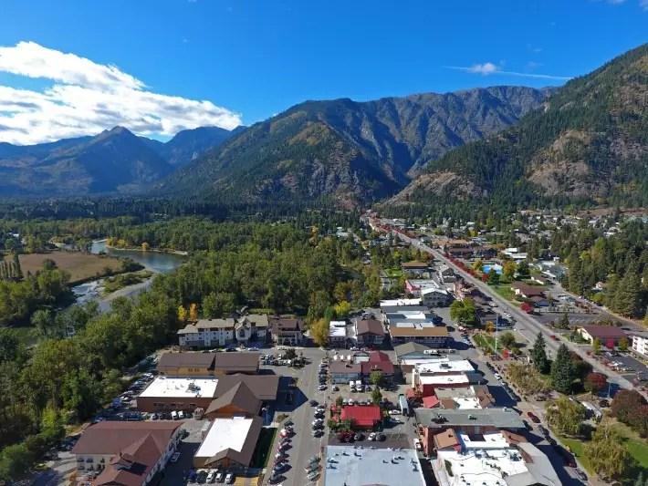 Leavenworth, Washington USA - forgetsomeday; Best drones for travel