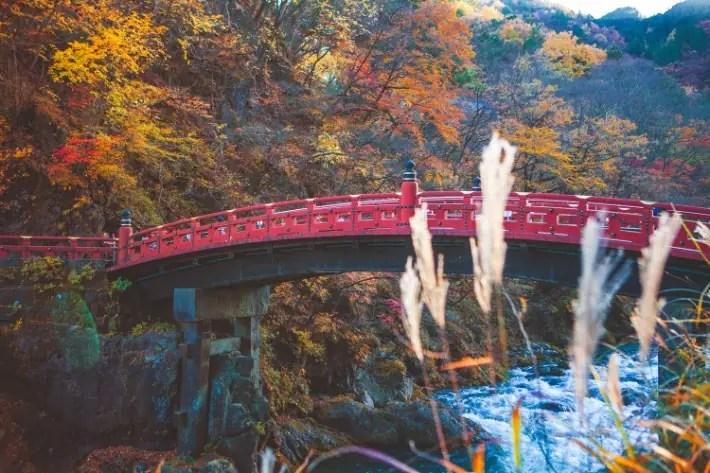 Shinkyo Bridge Nikko; Tokyo day trips; best places to visit in tokyo