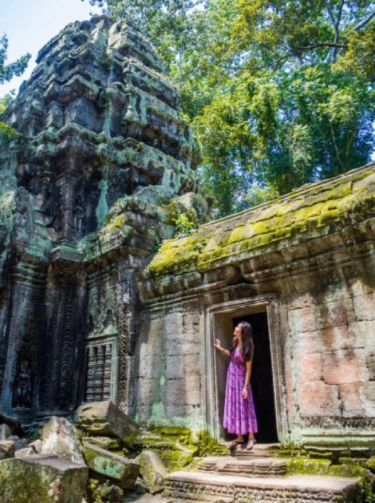 Siem Reap, Cambodia temple lara croft tomb raider