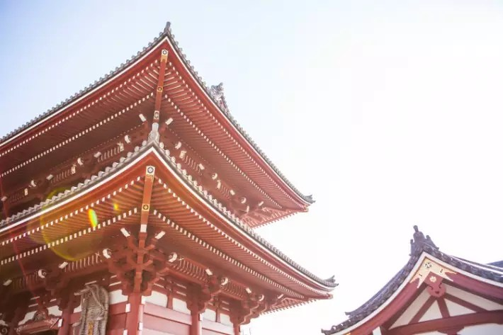 temple; best places to visit in tokyo