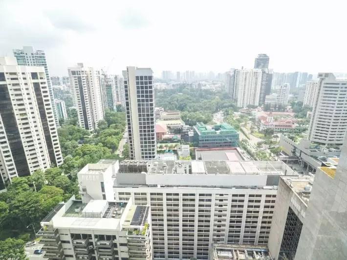 vanity set, yotel singapore hotel review