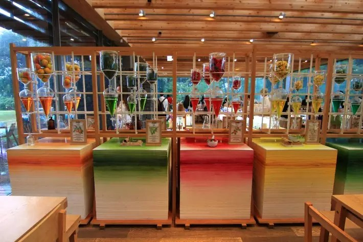 Innisfree Jeju House colourful, things to do in jeju island; what to do in jeju island, jeju island attractions