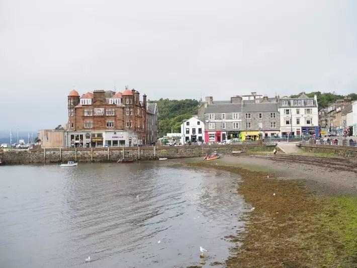 bay, oban, scotland itinerary
