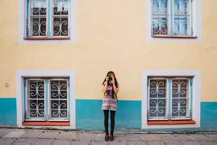 girl camera tallinn, estonia
