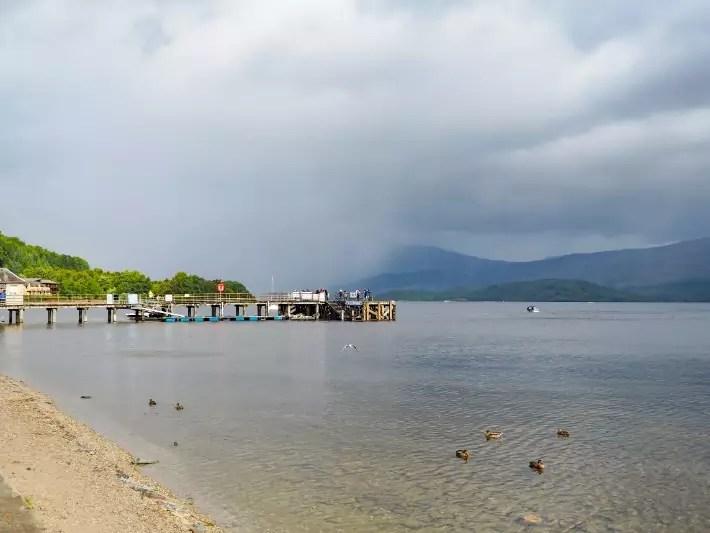 luss pier, Loch lomond, scotland itinerary