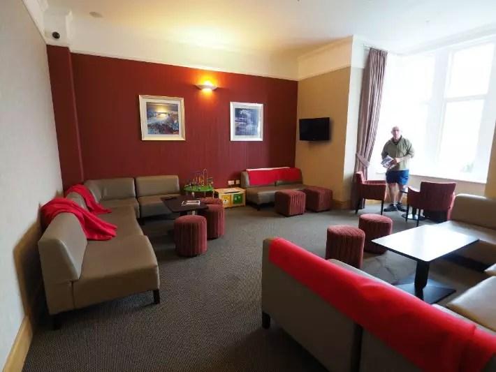 oban recreation room, hostelling scotland, scotland itinerary
