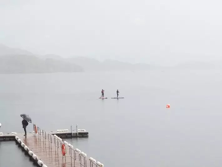 sup,stand up paddleboard, Loch Lomond, scotland itinerary