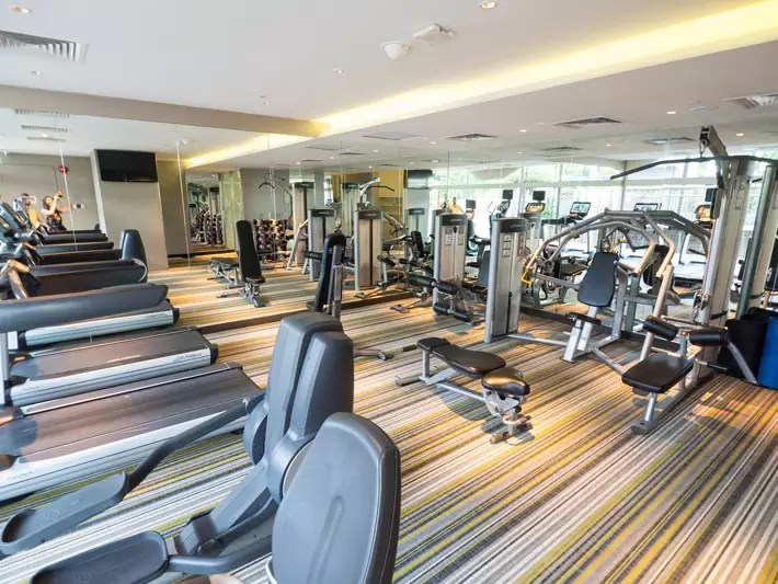 Village Bugis Hotel's Made-In-Singapore gym