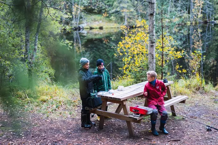 kids playing, Nuuksio National Park