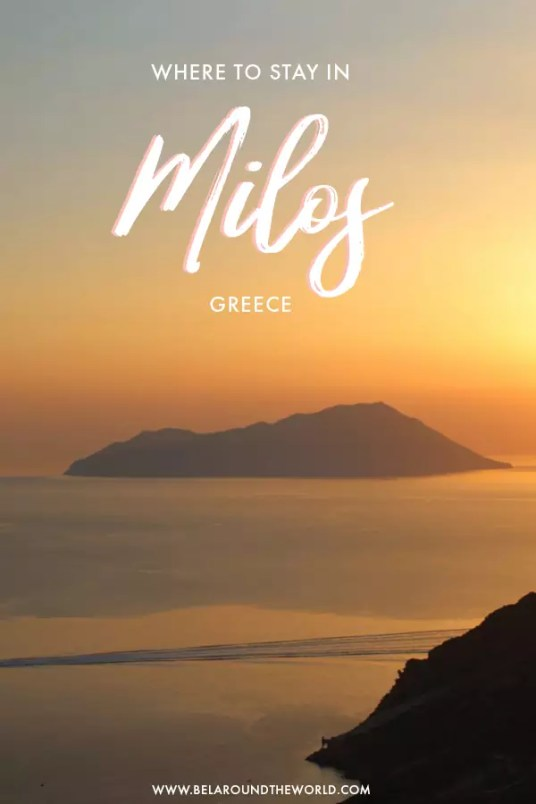 where to stay in Milos, greece