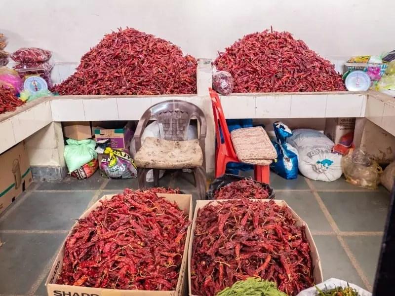 Centenary Farmers' Market, rice, chilli, bhutan