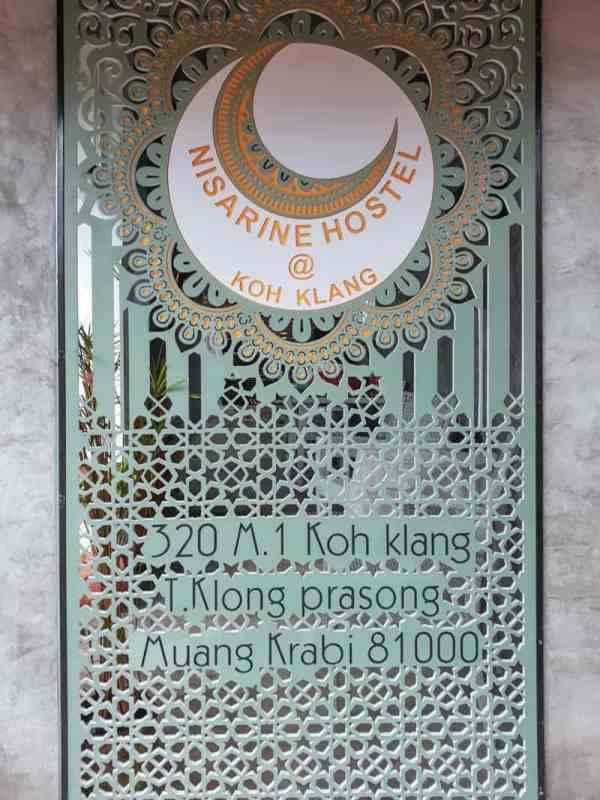 koh klang thailand krabi homestay door
