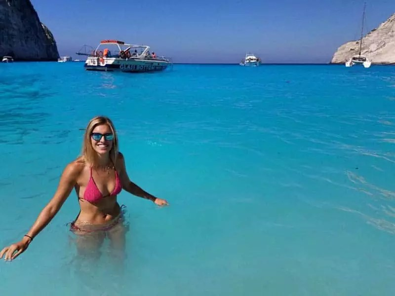 Shipwreck Beach, best beaches in zakynthos greece