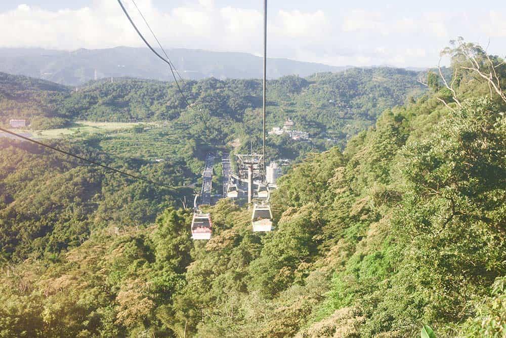Maokong-Gondola, things to do in taipei taiwan