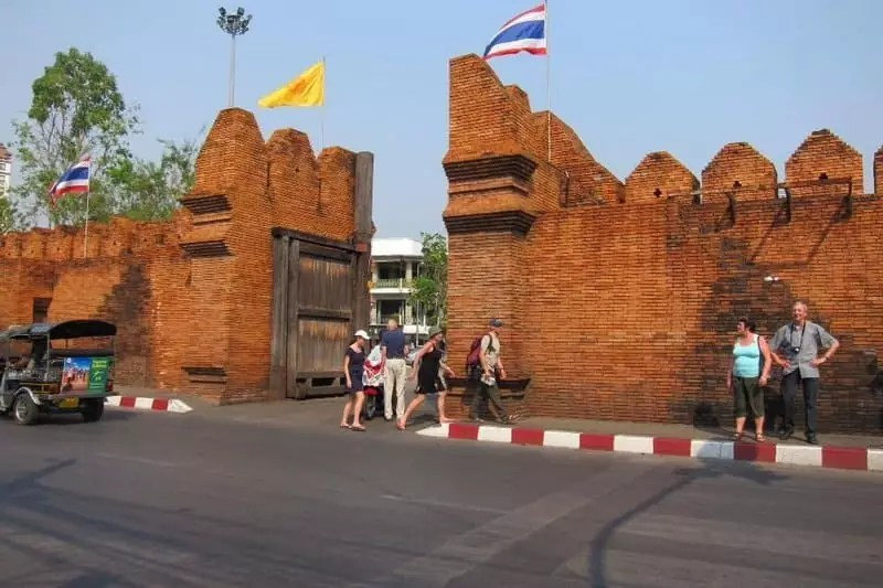 tha-phae-gate, what to do in Chiang Mai, Thailand