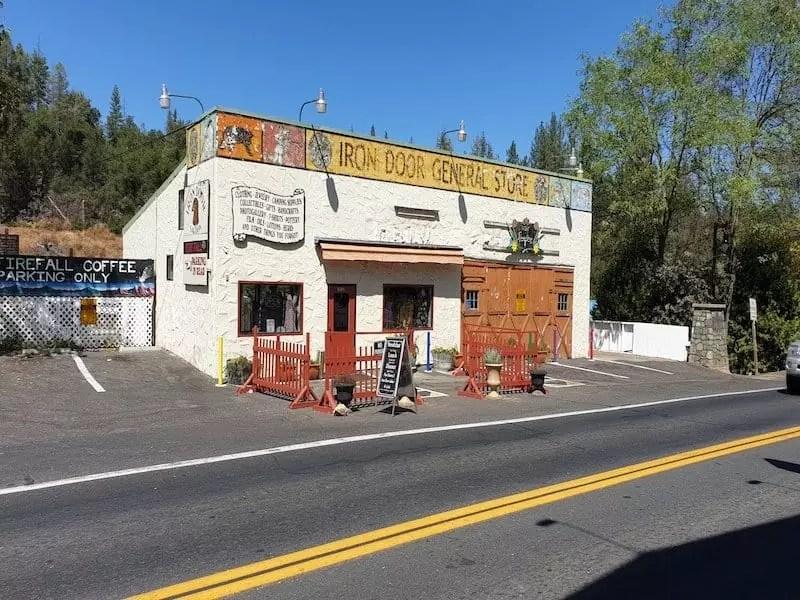 iron door general store, groveland