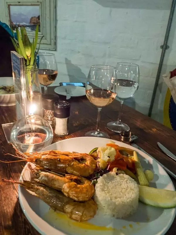 candlelight dinner seafood, Turbine-Boutique-Hotel-Spa-Knysna-South-Africa