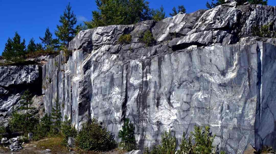 Ruskeala Marble Quarry, russia