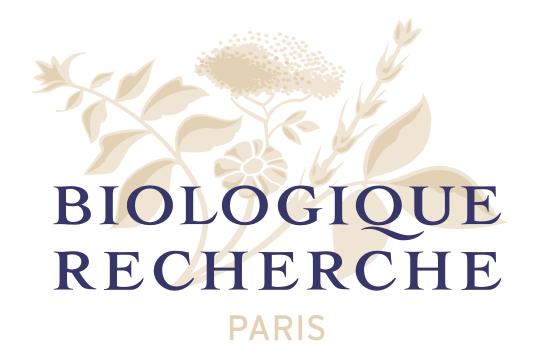 Logo de la marque cosmétiques de luxe Biologique Recherche