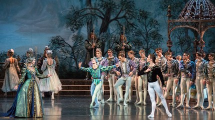 """Swan Lake"" at the Stanislavsky and Nemirovich-Danchenko Theater"