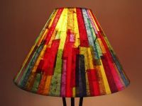 colorful lamp shades  Roselawnlutheran