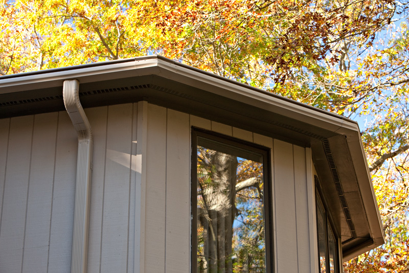 Should Gutters Match Trim or House