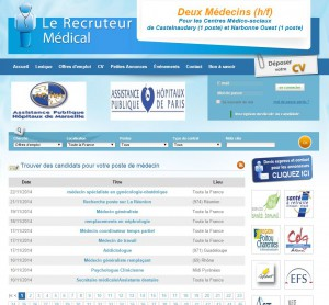 Le Recruteur Medical