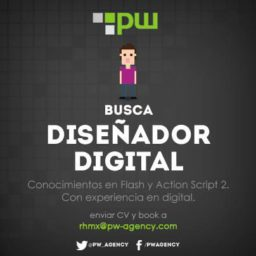 Modelo anuncio oferta empleo PW agency