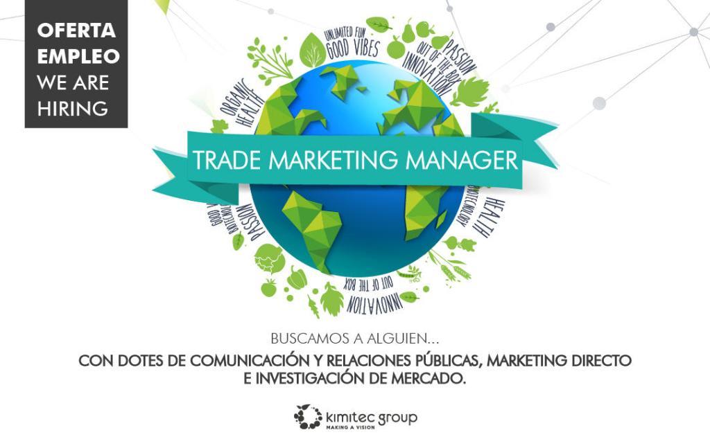 Modelo anuncio oferta empleo Kimitec Group