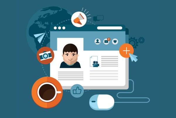 cómo he de incluir mis perfiles en redes sociales en un currículum