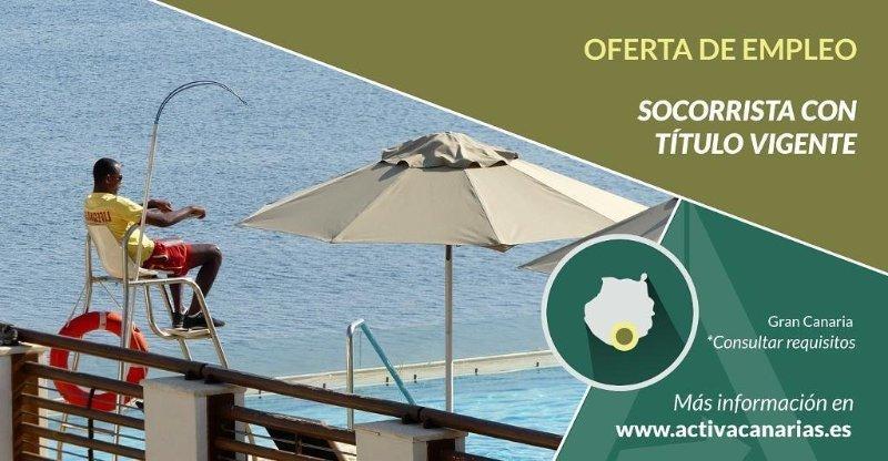 Modelo anuncio oferta empleo Activa-Canarias