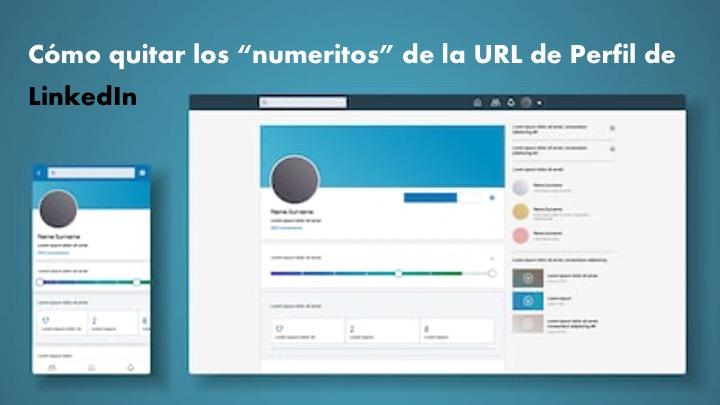 Cómo personalizar la URL de tu perfil de LinkedIn.