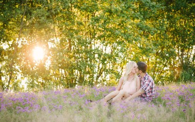 Alex+Samantha // Macon, Ga Engagement Photographer