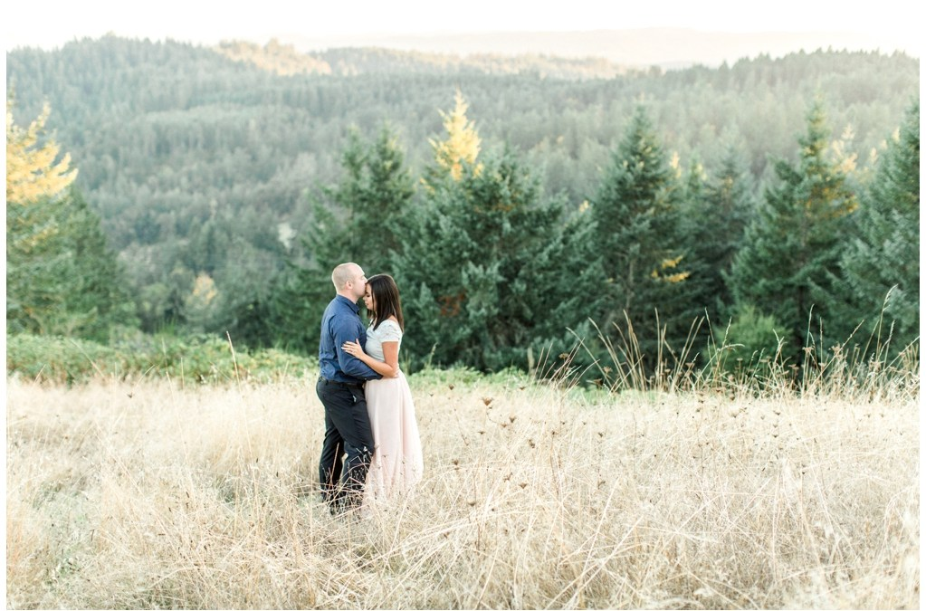 Sarah + Josh | Mount Baldy Loop Engagement Session | Eugene, Oregon Wedding Photographer