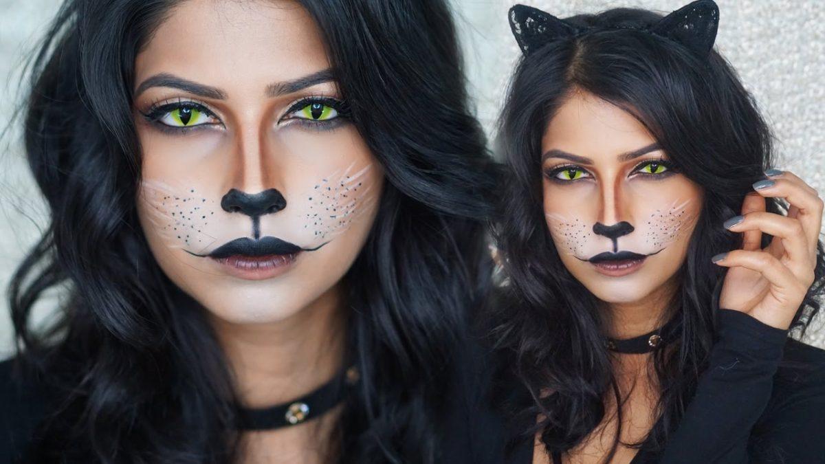 Resultado de imagem para maquiagem de gato halloween