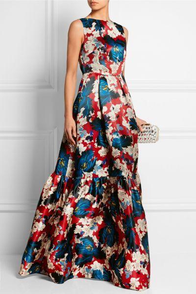 modelo vestido longo estampado Online Shopping -