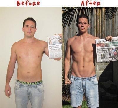 Antes e depois do tanquinho enganando