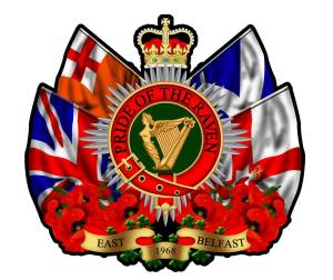 Pride of the Raven Flute Band Crest