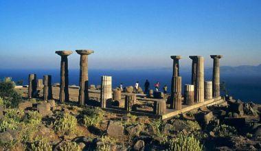 Çanakkale'de iki antik kent: Assos ve Parion