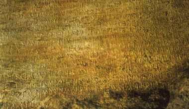Eski Türk Runik Yazısı