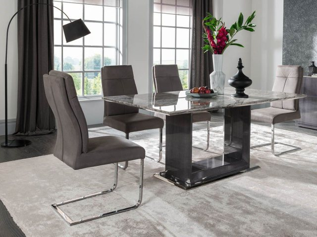 stella 160cm dining table