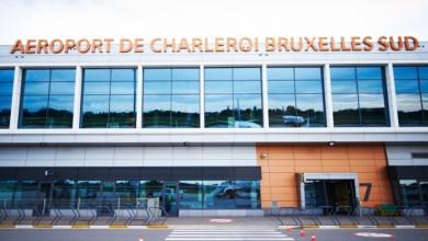 صورة كورونا : اغلاق مطار شارلروا