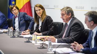 صورة قرارات قوية وجديدة لاجتماع مجلس الامن القومي البلجيكي