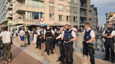 صورة قتال بلانكنبرج: تم فحص جميع القطارات ، واعتقال ثلاثة أشخاص